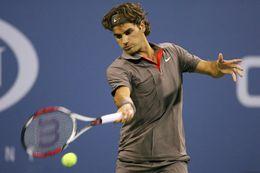Federer var örugglega með árskort